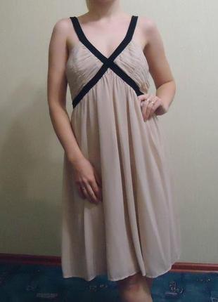 Фирменное платье сарафан h&m, р. 10 наш 46