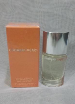 Clinique happy,парфюмированный спрей 30,50мл