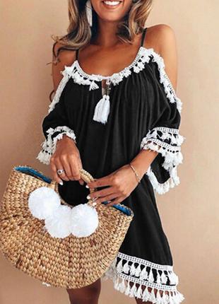 Стильное женское летнее платье сарафан