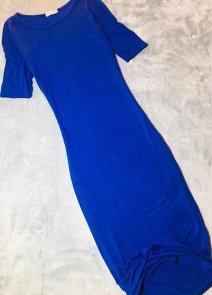 Синее платье от new look