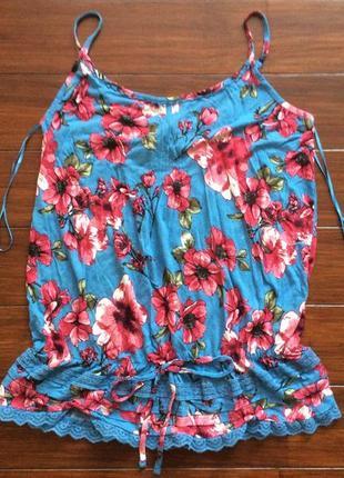 Блуза на бретелях от tu! p.-16 uk