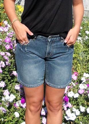 Классные джинсовые шорты бойфренд бриджи