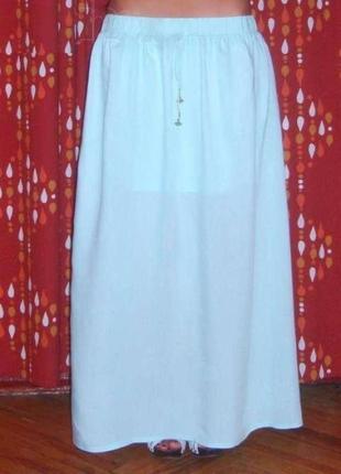 Длинная maxi (макси) юбка в пол s-m