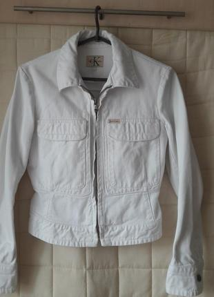 Calvin klein jeans!женская джинсовая куртка от известного бренда