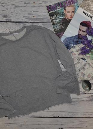 S/26 фирменный обалденно модный женский батник свитер реглан блуза зара zara
