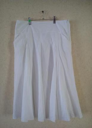Натуральная хлопковая юбка пот 47