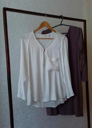 Нежная блузка рубашка р. м/ s  bershka