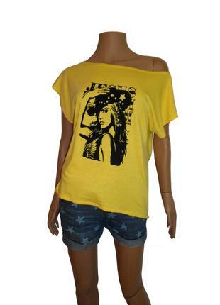 Стильная женская футболка, удлиненная спинка