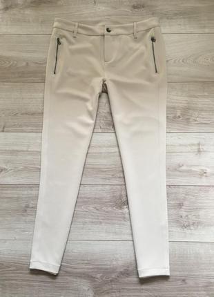 Бежевые  брюки  yessica l-xl