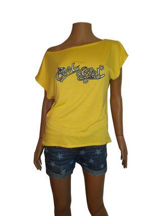 Женская футболка с удлиненной спинкой