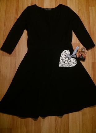 Красивое приталенное платье солнцеклеш тюльпан