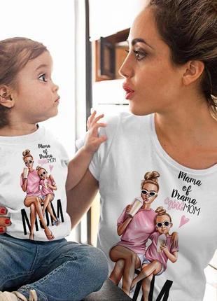 Парная футболка family look