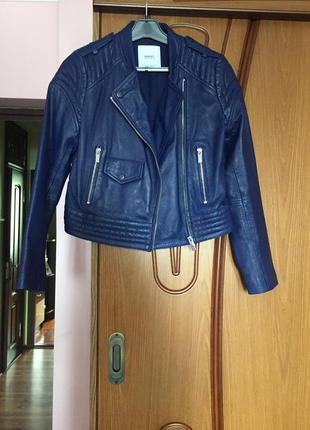 Кожаная куртка (косуха) манго