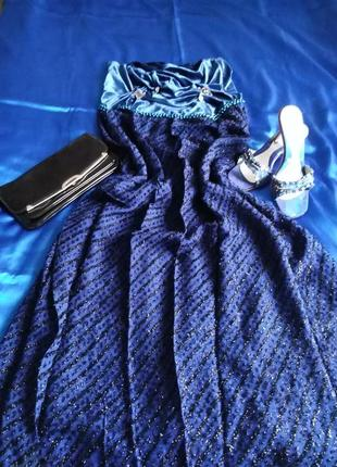 3 в 1 !!! комплект : эксклюзивное дизайнерское вечернее платье , туфли, сумочка !!!