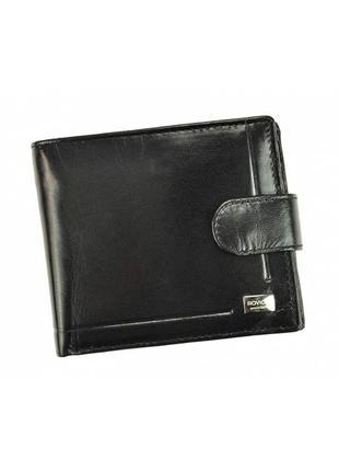 Мужской кожаный кошелек rovicky pc-022l-bar rfid