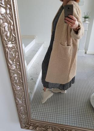Пальто из натуральной овчины легкое весеннее легенькое стильное и супер модное