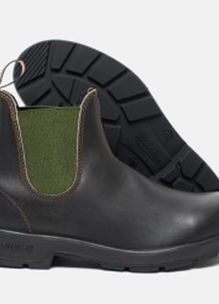 Кожаные ботинки / челси blundstone
