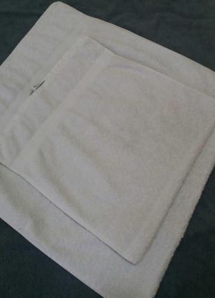 Набор махровых полотенец-2шт
