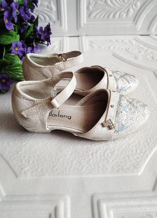 Нарядные туфли на каблуке (17,5 см)