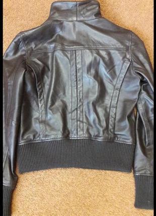 Куртка кожаная3