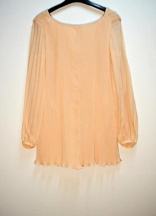Трендовый комбинезон ромпер платье плиссе от zara2
