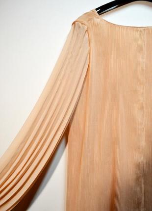 Трендовый комбинезон ромпер платье плиссе от zara5