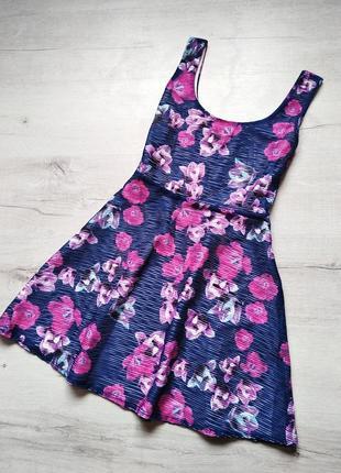 Шикарное летнее платье в цветочный принт от amisu
