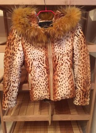 Меховая куртка деми