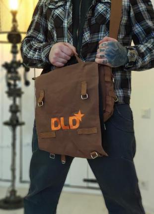 Dld (digital life design) . текстильная брендироввнная сумка  одноименной фундации.