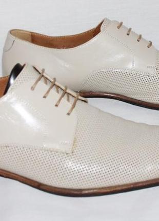 Мужские кожаные туфли moreschi 42 (28 см)
