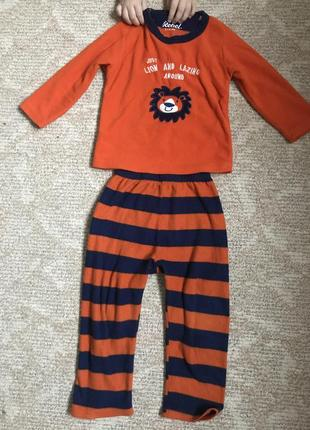 Пижама rebel на 3-4 года
