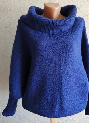 Приятный мягкий светерок, объемный свитер, джемпер оверсайз