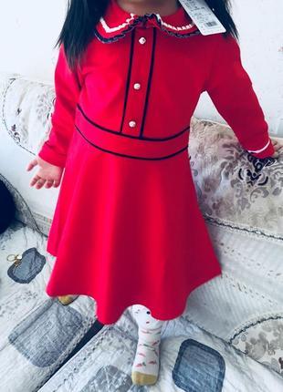 Новое очень красивое детское платье6
