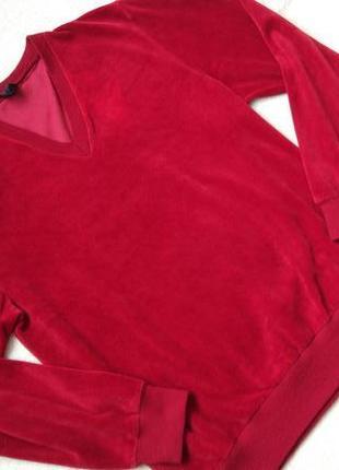 Big sale! новая бархатная кофта свитшот stola р.46-48/m-l