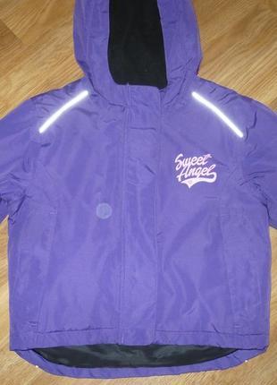 Куртка зимняя еврозима 86-92р. lupilu состояние новой