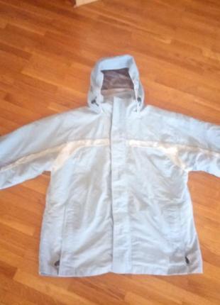 Фірмова італійська лижна куртка з відстібною флісовою курточкою xxl р.