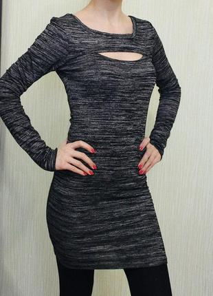 Отличное осенне-зимнее платье по фигуре!