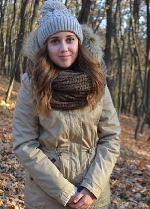 Осенняя зимняя парка tally weijl