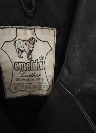 Кожаный плащ пальто3 фото