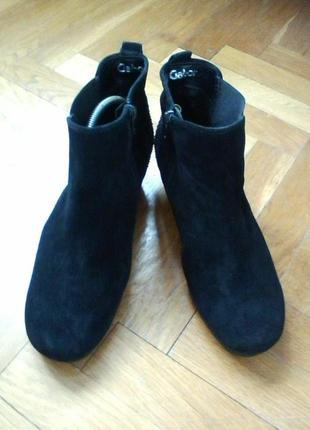 Ботинки  ботильены от gabor, разм.38,5, указан 5 ½