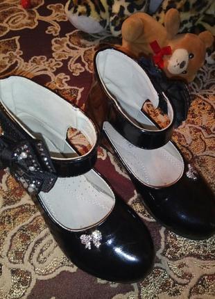 7865fa7b2 Лакированые туфли для девочек 2019 - купить недорого вещи в интернет ...