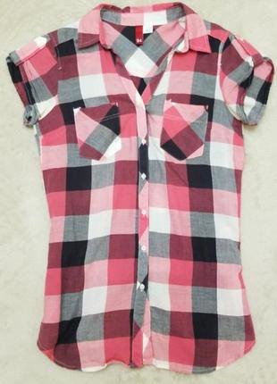 Рубашка h&m 34