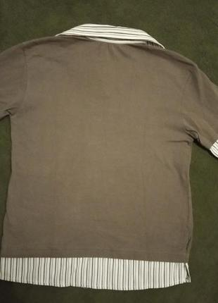 Кофта рубашка обманка3 фото