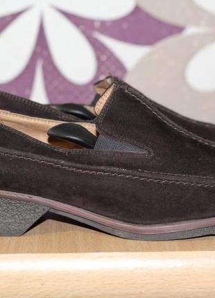 Manfield  замшевые туфли 37-38
