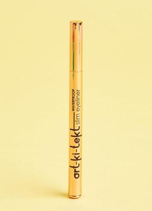 Сша водостойкая подводка для глаз lasplash art-ki-tekt waterproof eyeliner, 1 гр.