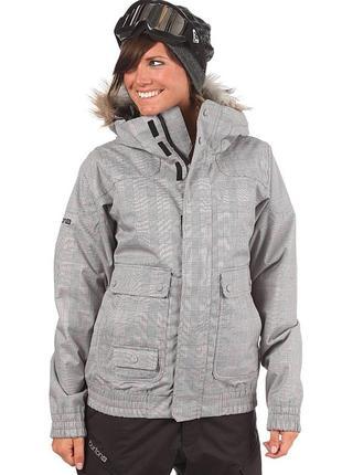 Невероятно крутая лыжная куртка burton tabloid  (оригинал)