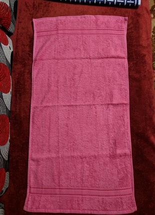 Яркое махровое полотенце