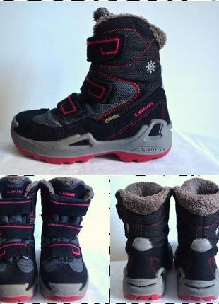 Lowa goretex детские ботинки размер 29