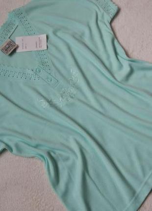 Big sale! новая красивая футболка блузка nuggets р.46/xl-xxl
