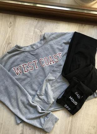 Кроп топ west coast